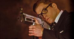 Taron Egerton as Eggy in Kingsman: The Secret Service. This boy scrubbed out well with Galahad's mentoring!