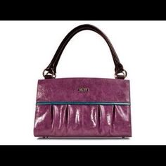 Miche Classic Natalie Shell Grape colored shell with turquoise accent. New. Shell only.  Base bag not included. Miche Bags Shoulder Bags
