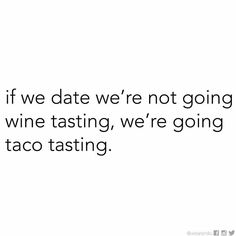 Taco tasting