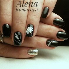 33 Amazing Stylish Nail Designs Collection, 33 Amazing Stylish Nail Designs Collection Nail Designs 2017, Silver Nail Designs, Fall Nail Art Designs, Stylish Nails, Trendy Nails, Fancy Nails, Cute Nails, Glow Nails, Grunge Nails