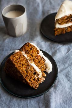 This vegan pumpkin spice carrot cake with cream cheese frosting is a marriage of two traditional, beloved desserts. Perfect for fall!