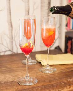 Beyond Dinner: Blood Orange Champagne Cocktail | Blue Apron Blog