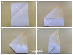 ◈ 편지지 접기 ~봉투는 필요 없어요~ : 네이버 블로그