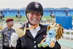 """Norway's Lubbe back on top at Para dressage competition 13.09.2016 Win is first in eight years, following gold medal successes in Athens and silvers at Beijing Games. """"It's good to be back,"""" she said. - Ann Cathrin Lubbe - Rio 2016"""