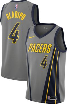 Nike Men s Indiana Pacers Victor Oladipo Dri-FIT City Edition Swingman  Jersey 9210a3830