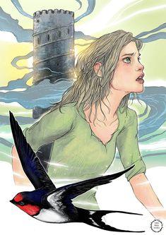 Ciri, Illustrations, Artist, Anime, Design, Illustration, Artists, Cartoon Movies, Illustrators