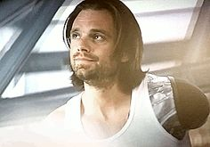 Nope. Nope. Nope. Deny. WHY ~~~ Why?  He let it happen, put himself in harm's way for Steve.  And look at that face.  He doesn't regret it.  He's never regretted anything less.  #civilwar