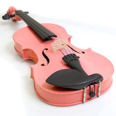 coral violin | Found on ebay.com