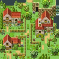 Cottage Garden (RPG Maker Map #2) by Grismalice on DeviantArt ...