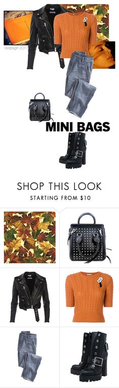 """""""A good read"""" by vespagirl ❤ liked on Polyvore featuring Alexander McQueen, Miu Miu and Wrap"""