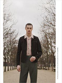 Filip Hrivnak for GQ Australia by Romain Duquesne