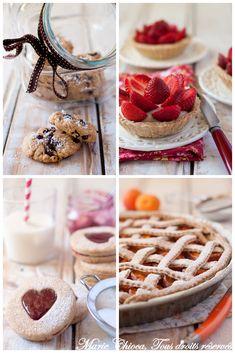 Tartes de saison et petits gâteaux au sucre de bouleau