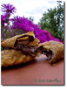 Empanadillas de Nutella y plátano - Nutella and banana dumplings