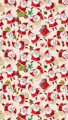 Santa Claus Texture Background Pictures #iPhone #6 #wallpaper