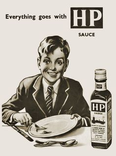 The original recipe was invented and developed by Fred Gibson Garton a grocer from Nottingham. He registered the name HP Sauce in he called the sauce HP because he had heard that it was being used in the restaurant in The Houses of Parliament.