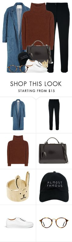 """""""Je sais"""" by solinestyle ❤ liked on Polyvore featuring Sandy Liang, Etro, Loro Piana, Mark Cross, ASOS, Nasaseasons, Acne Studios and Ray-Ban"""