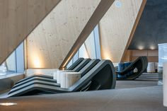 The Aqua Dome- A Pure Relaxation in the Heart of the Ötztal Alps Aqua, Interior Architecture, Interior Design, In The Heart, Apartment Design, Scenery, Stairs, Relax, House Design