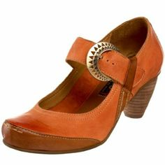 Everybody by BZ Moda Tempe Mary Jane in Pale Orange--- Yes, I have them in two colors...They are that nice..
