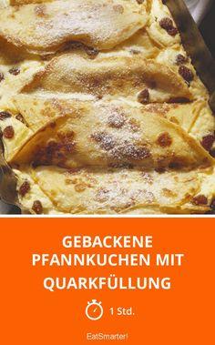 Gebackene Pfannkuchen mit Quarkfüllung - smarter - Zeit: 1 Std.   eatsmarter.de