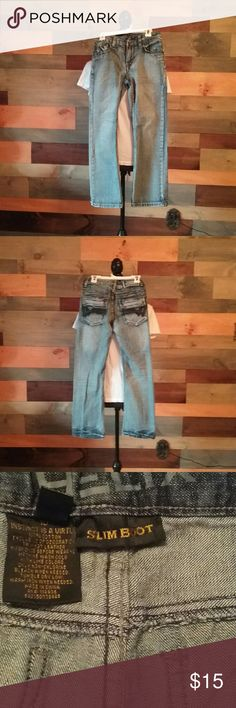 Helix Slim boot cut jeans Worn once! Helix  Bottoms Jeans