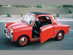 Autobianchi  : 1959 Bianchina 500 Transformable