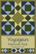 Voyageurs National Park Quilt Block