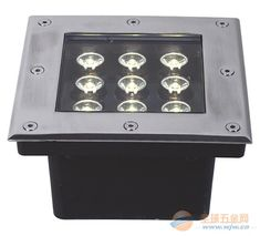 9W LED underground light square shape waterproof outdoor lamp optional light color Decoration or Instruct buried lighting. Yesterday's price: US $34.02 (27.91 EUR). Today's price: US $34.02 (28.02 EUR). Discount: 19%.