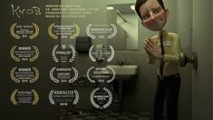 "**Award Winning** CGI 3D Animated Short  Film: ""KNOB""  - by KNOB Team"