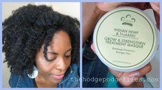 The HodgePodge Files| A Natural Hair + Lifestyle Blog: In Review: Nubian Heritage Indian Hemp & Tamanu Grow & Strengthen Treatment Masque #naturalhair