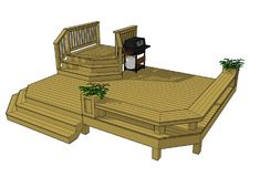 This might be a good basic design for our deck, except we need two entrances to . - House Plans, Home Plan Designs, Floor Plans and Blueprints Patio Plan, Backyard Patio, Backyard Layout, Wedding Backyard, Backyard Retreat, Free Deck Plans, Deck Building Plans, Tiered Deck, Wrap Around Deck