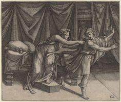 Giuseppe e Putifarre della moglie
