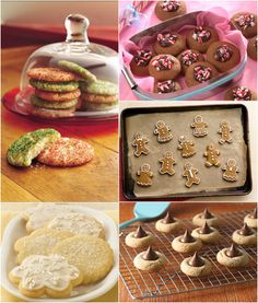 These aren't your grandma's Christmas cookies. They're new, they're different and these unique Christmas cookie ideas know how to steal the show at your annual cookie exchange. Best Christmas Cookies, Christmas Sweets, Christmas Snowman, Christmas Ideas, Holiday Baking, Christmas Baking, Yule Celebration, Cookie Decorating Party, Cookie Time