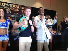 Photos: Saul Alvarez vs. Austin Trout Final Presser - Boxing News