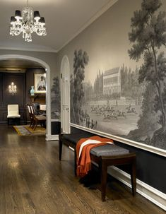 Eclectic Home mural Design Ideas, Pictures, Remodel and Decor