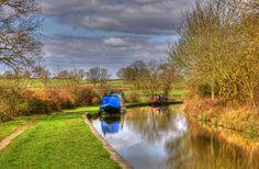 Hidden heart of Britain! Oxford canal.