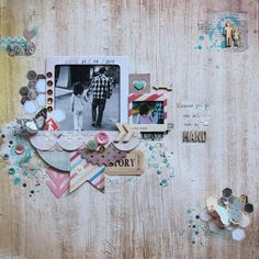 #papercraft #scrapbook #layout Catarina Monguilhott