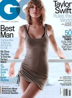 Taylor Swift GQ (US) November, 2015