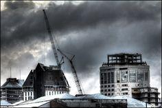 Grand Chancellor demolition (Nov 2011)
