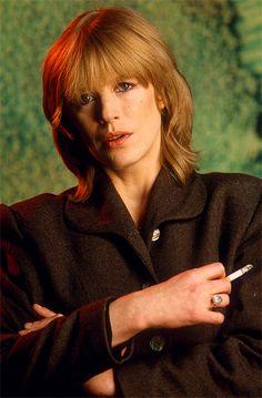 Gunter W. Marianne Faithfull, Smoking Ladies, Vintage Beauty, Rock Music, Rolling Stones, The Beatles, Girlfriends, Glamour, Actresses