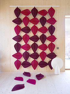 Airleaf sound-absorbent panels by Stefan Borselius for Abstracta                                                                                                                                                      More