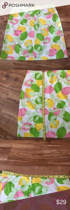 Lilly Pulitzer Lemon Lime Skirt 2 Lilly Pulitzer Lemon Lime Skirt 2 Lilly Pulitzer Skirts