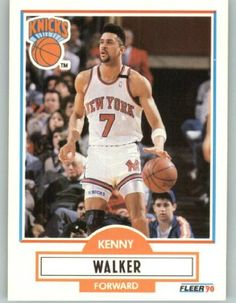 1990-91 Fleer #130 Kenny Walker - New York Knicks (Basketball Cards) by Basketball Cards. $0.88. 1990-91 Fleer #130 Kenny Walker - New York Knicks (Basketball Cards)