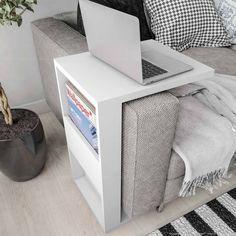 Compre Mesa de Apoio Book Branco - Líder Casa em Promoção com ✓ Até 12x ✓ Fretinho