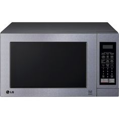 With 700W of power and 10 power levels, this LG LCS0712ST 0.7 cu. ft. compact microwave lets you prepare a wide variety of delicious meals. The EasyClean feature simplifies the cleaning process, and the clock keeps you notified of the time.