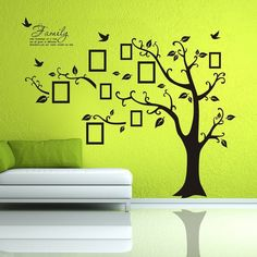 Newisland® Family Tree Frame Wall Decor Removable Wall Stickers $12.99  Save68% http://lacsitata.com/family-tree-frame-wall-decor-12-99-save68/
