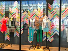 Waterski Painting Inspiration J.Crew windows, Spring 2013