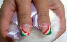 unghie bandiera italiana - Cerca con Google