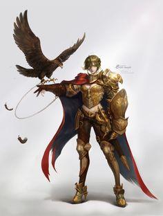 ArtStation - Eagle Knight, 보연 원