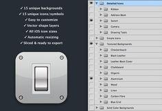 Free iPhone App Icon Kit