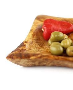Schale eckig aus Olivenholz 13 cm | treevoli
